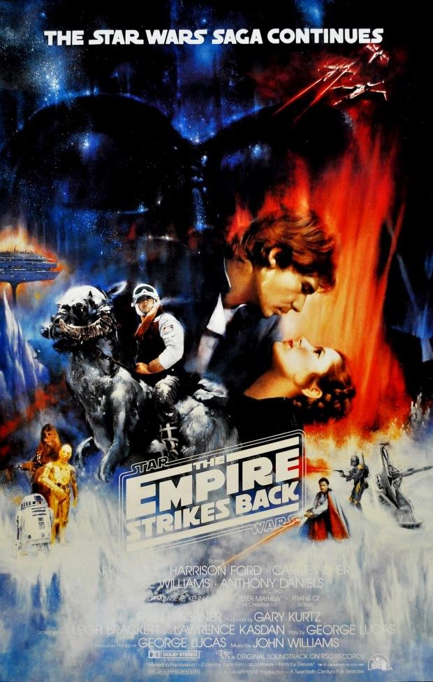 Star Wars - The Empire Strikes Back (1980) International Test Proof by Roger Kastel