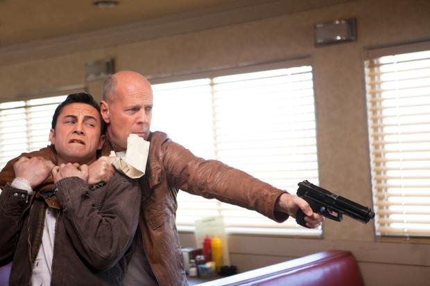 Joseph Gordon-Levitt; Bruce Willis